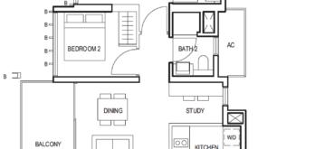 midwood-2-bedroom-study-floor-plan-(2+1)-a-singapore