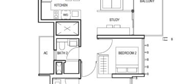midwood-2-bedroom-study-floor-plan-(2+1)-b-singapore